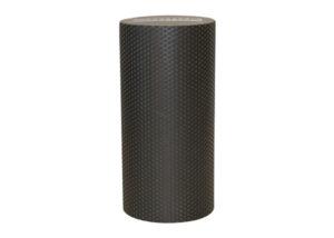 black solid yoga roller