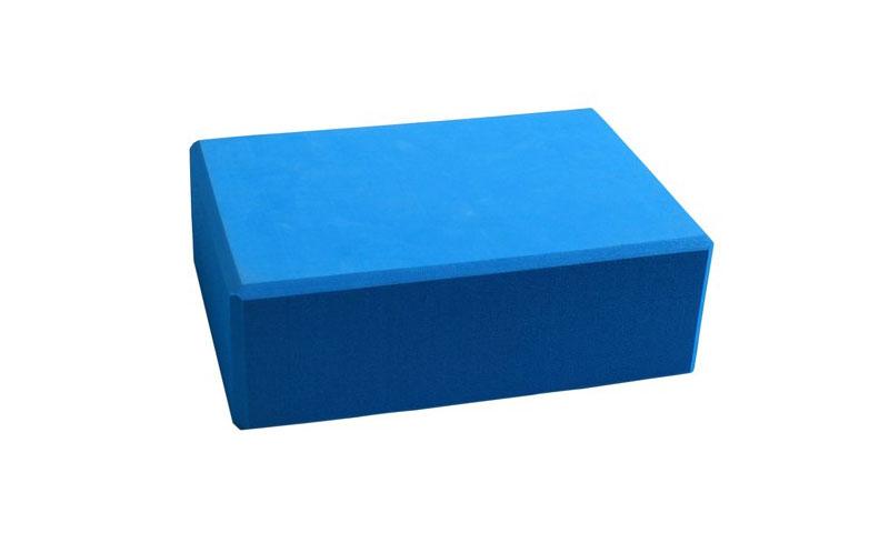 blue EVA yoga block