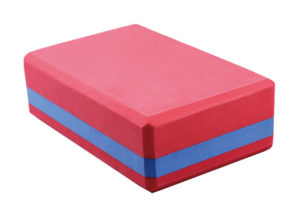 double color yoga brick