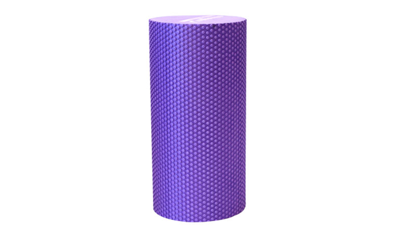purple solid yoga roller
