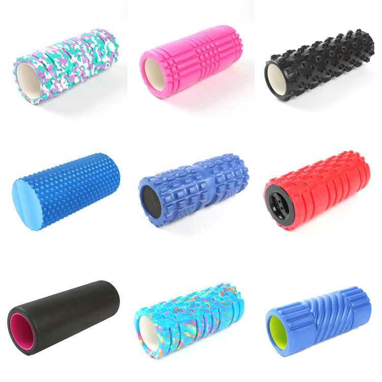 various yoga rollers