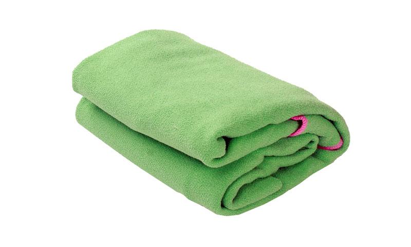 yoga towel with pocket