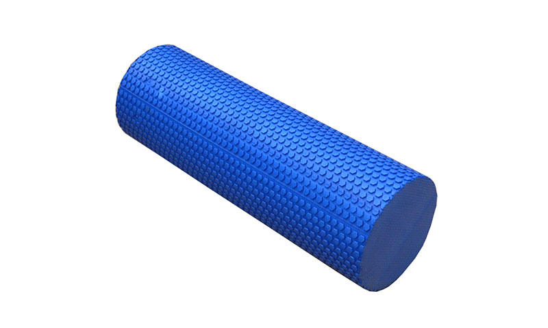 blue EVA yoga roller