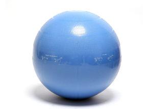 blue fitness yoga ball
