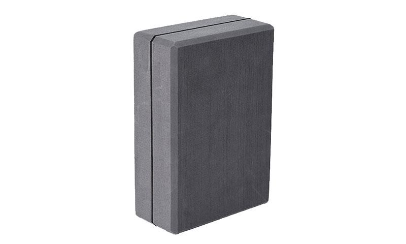 gray EVA yoga block
