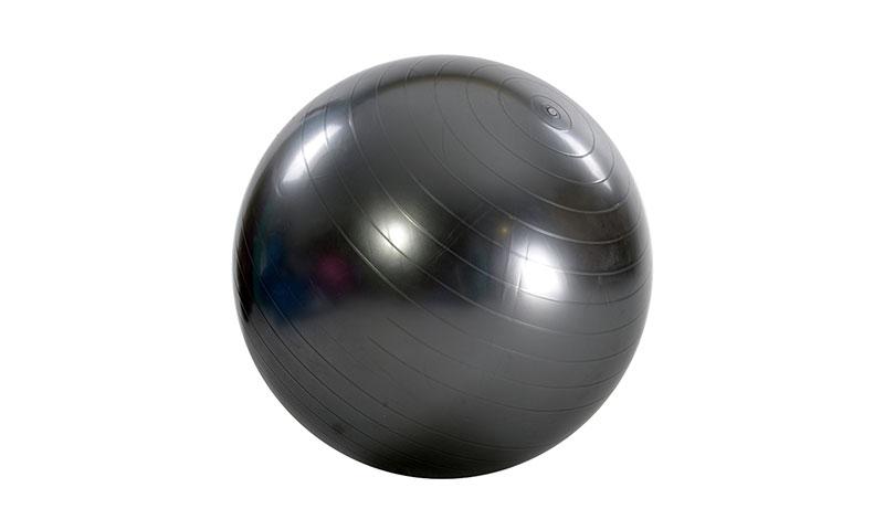 gray fitness yoga ball