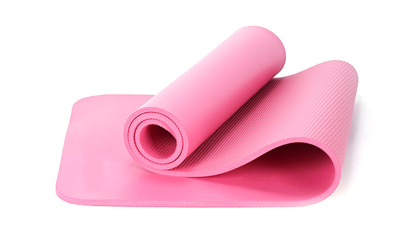 pink extra thick NBR yoga mat