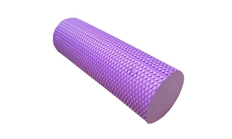 purple EVA solid yoga roller
