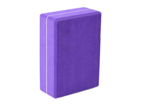 purple EVA yoga block
