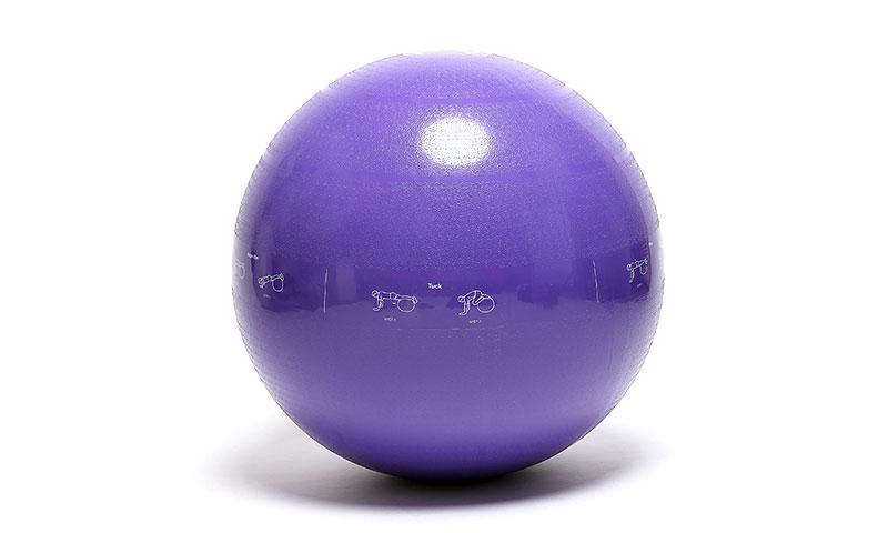 purple fitness yoga ball