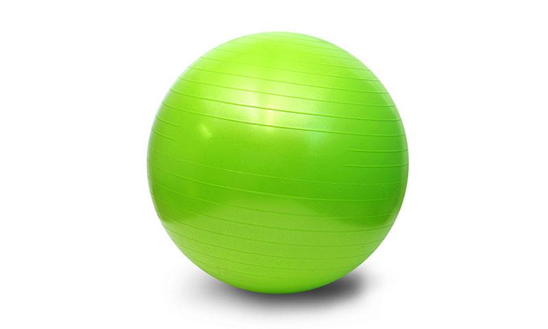apple green PVC scrub yoga ball