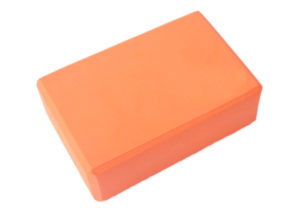 orange EVA yoga brick