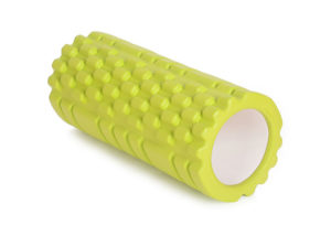 yellow hollow yoga roller