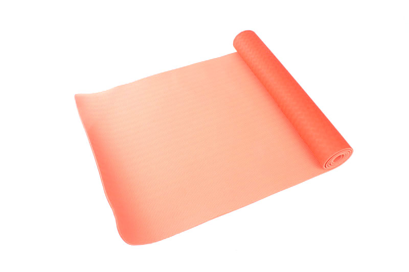 latex free double layer yoga mat