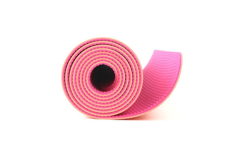 private label double layer yoga mat