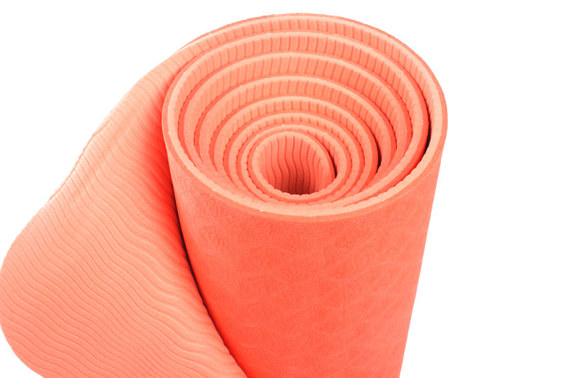 recyclable double layer yoga mat