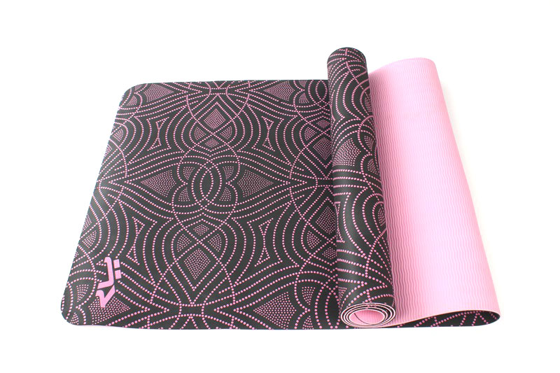 unique design TPE yoga mat