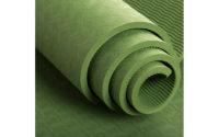 green tpe yoga mat