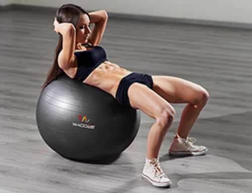 How to use care and clean a yoga ball