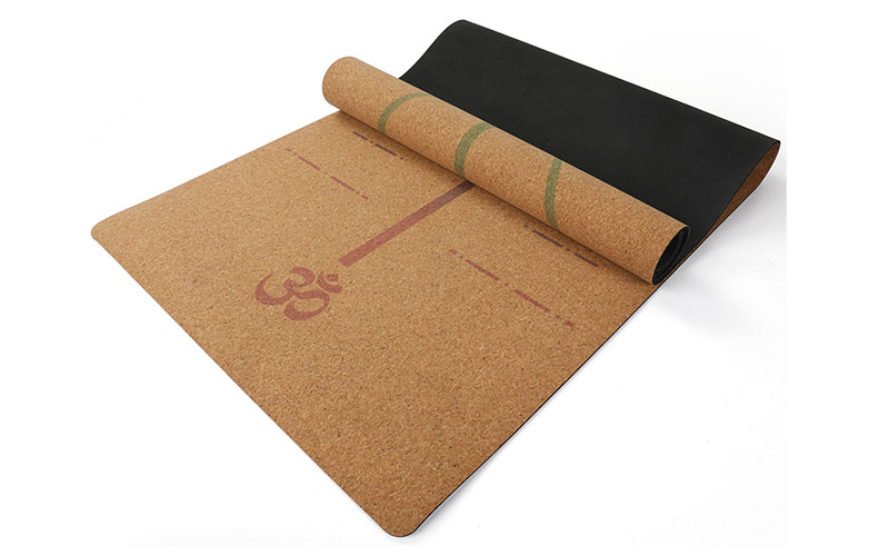 cork yoga mat with liforme