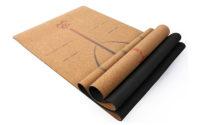 cork yoga mat with liforme