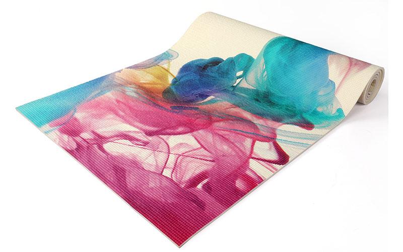 pvc printing yoga mat